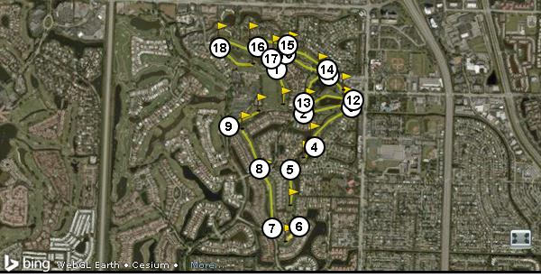 Ballenisles country club east golf course - Palm beach gardens weather forecast ...